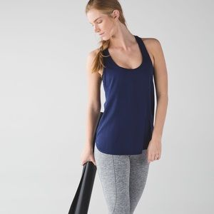 Lululemon Principle Tank in Hero Navy
